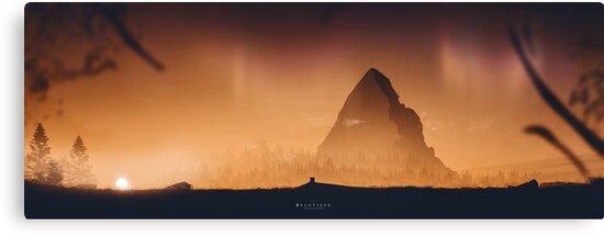 Beautiful Desolation - Digital Artwork von Lucas Dietrich