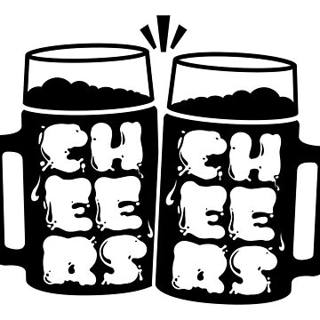 Cheers Typography by PPWGD