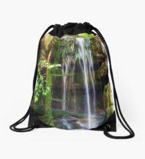 Man Made Waterfall Drawstring Bag
