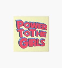 Power für die Mädchen Galeriedruck