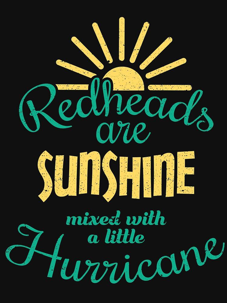 Redheads Are Sunshine  by kieranight