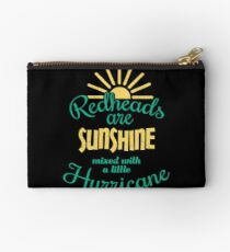 Redheads Are Sunshine  Studio Pouch
