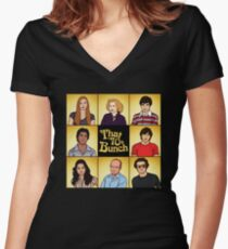 That '70s Bunch (That '70s Show) Women's Fitted V-Neck T-Shirt