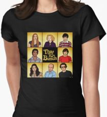That '70s Bunch (That '70s Show) Women's Fitted T-Shirt