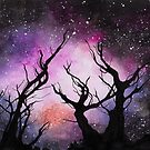 Watercolor Space by marlene freimanis