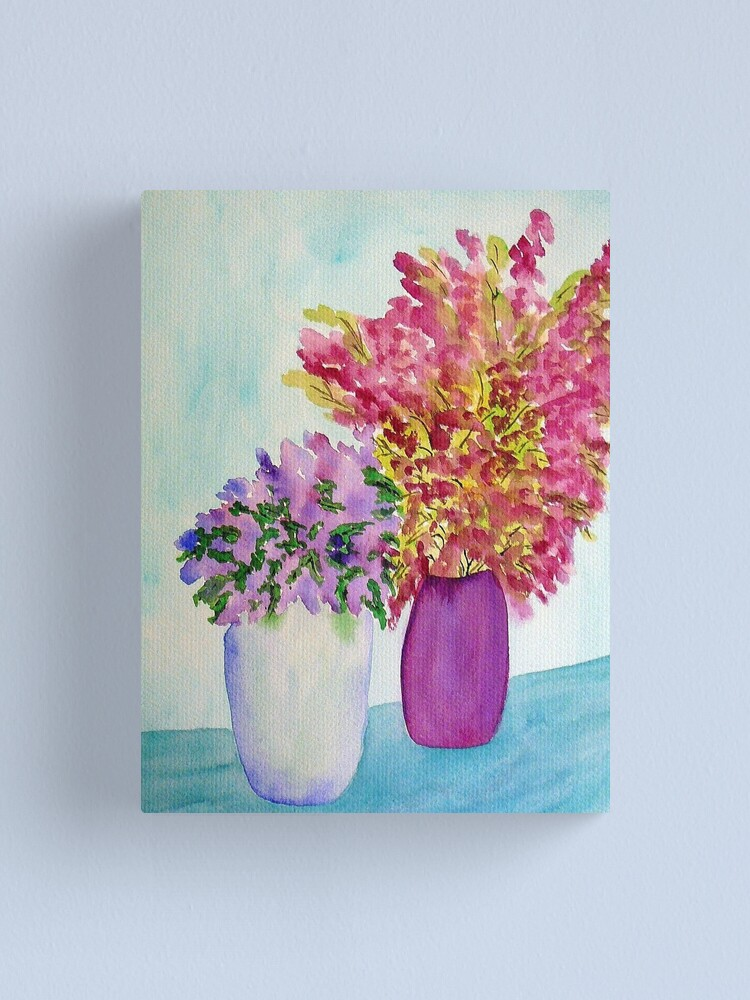 Alternate view of Spring Flowers Canvas Print