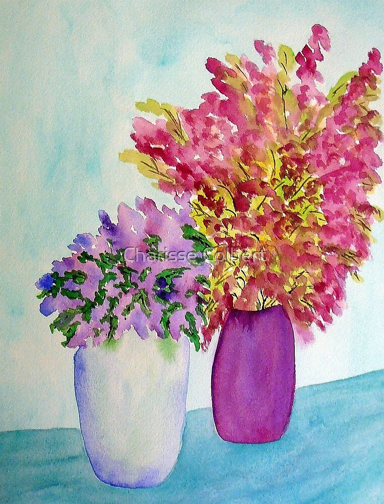 Spring Flowers by Charisse Colbert