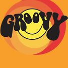 Groovy - Retro shirt by ptelling