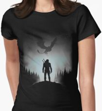 White Wolf Women's Fitted T-Shirt