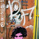 ROFL Street Art, Buenos Aire Argentina 2009 by Tash  Menon