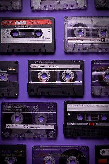 Purple Old School Music by jammysam1680