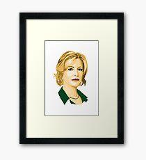 Skyler White Framed Print