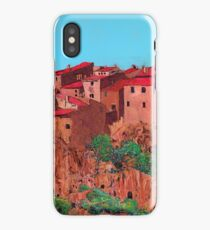 Pitigliano iPhone Case