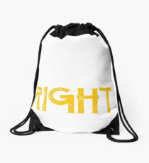 Leah is always right first name Drawstring Bag