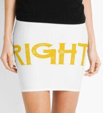 Paisley is always right Mini Skirt