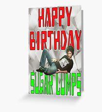Happy Birthday Sugar Lumps Conchords Greeting Card