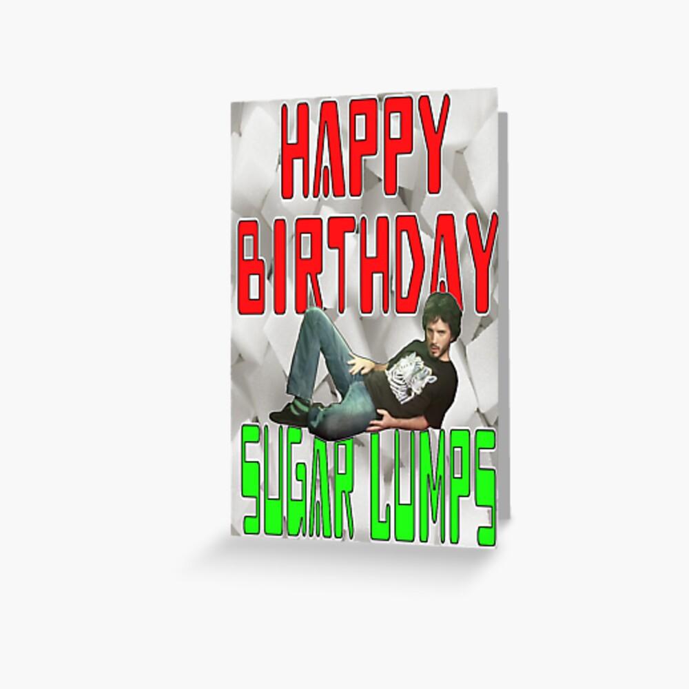 Feliz cumpleaños Sugar Lumps Conchords Tarjetas de felicitación