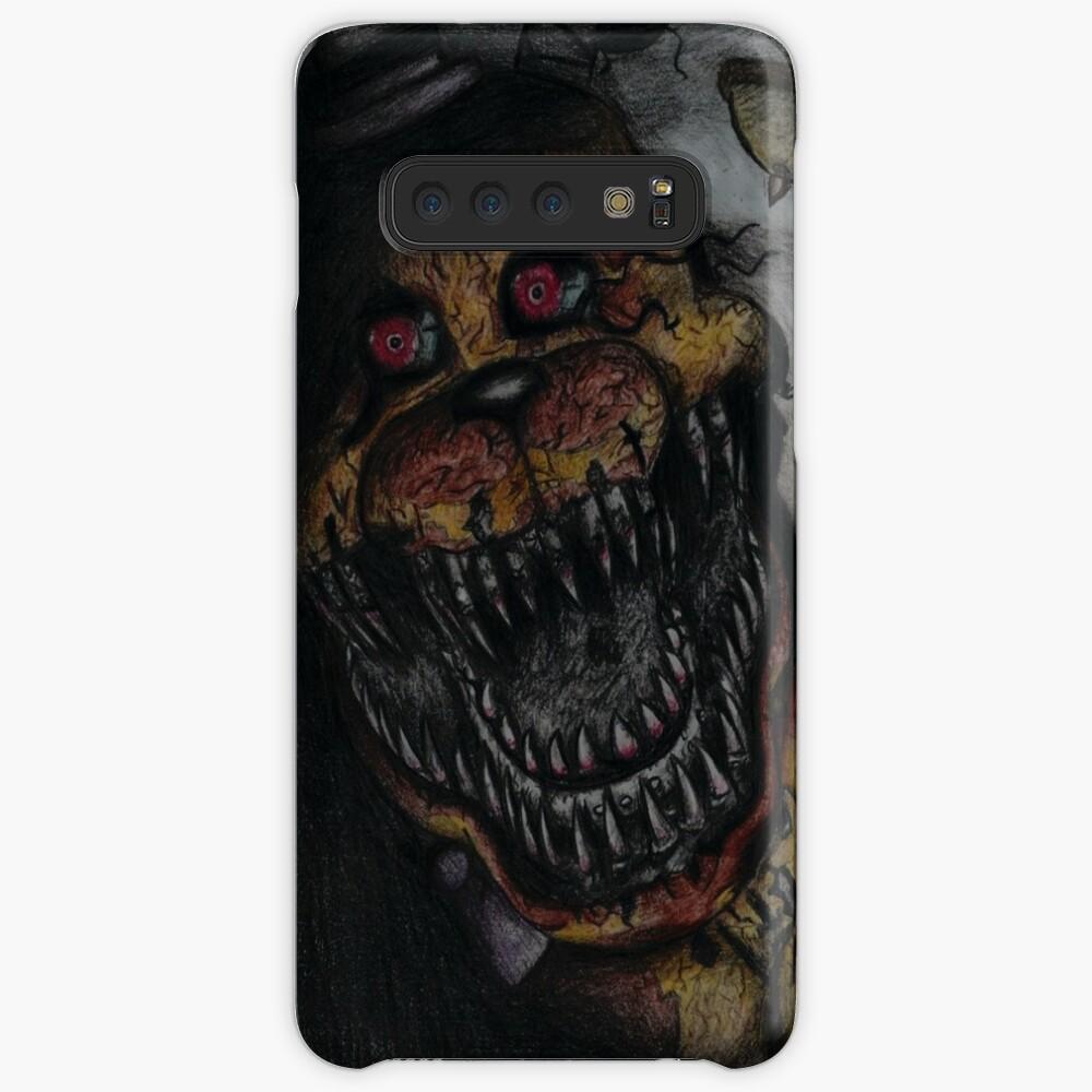 FNaF Nightmare Fredbear Case & Skin for Samsung Galaxy