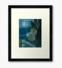 pixel picasso Framed Print