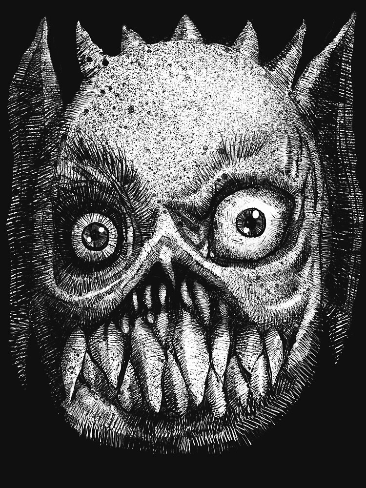 The Face of Horror  by bloodink