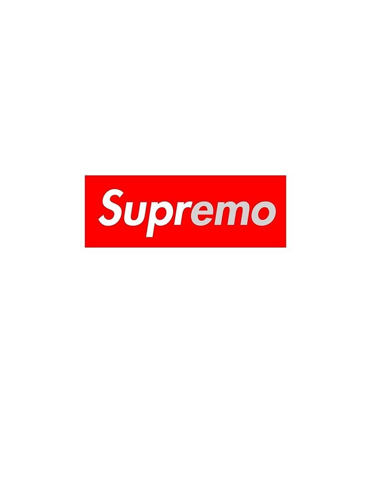 Supreme Emo Box Logo Is This Emo By Foofboofposting Redbubble