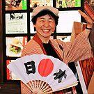Happy Japanese, Osaka Japan 2008 by Tash  Menon