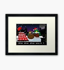 Ho ho ho-bey! Framed Print