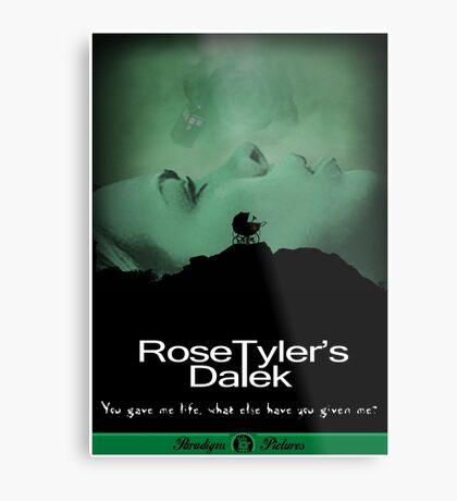 Rose Tyler's Dalek Metal Print