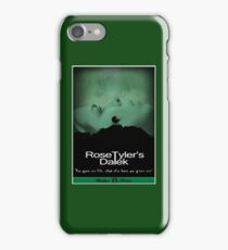 Rose Tyler's Dalek iPhone Case/Skin