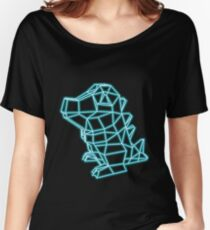 Pokemon Totodile neon Women's Relaxed Fit T-Shirt