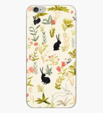 black rabbits  iPhone Case