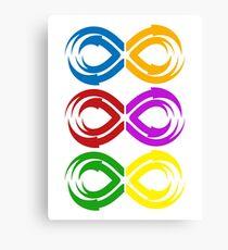 Infinity Stones Colors Canvas Print