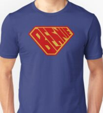 Bernie SuperEmpowered (Red and Gold) Unisex T-Shirt