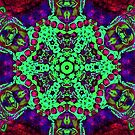 Neon Mandala by DesJardins