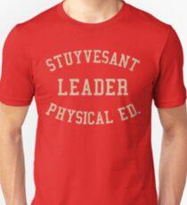 Camiseta unisex Stuyvesant Physical Ed. Líder Vintage