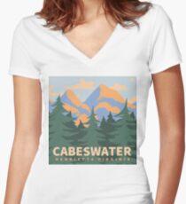 Cabeswater Henrietta Virginia Shirt mit V-Ausschnitt