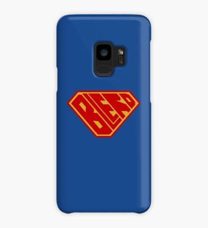 Blerd SuperEmpowered (Red and Gold) Case/Skin for Samsung Galaxy