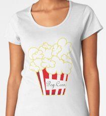 Pop Corn Camiseta premium para mujer