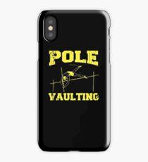 Pole Vault Gift - Custom Pole Sticker - Custom Pole Decal - Pole Vaulting Stick - Pole Vault Necklace - Pole Sticker - Pole Vaulter Stick iPhone Case
