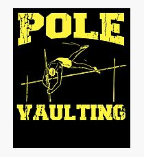 Pole Vault Gift - Custom Pole Sticker - Custom Pole Decal - Pole Vaulting Stick - Pole Vault Necklace - Pole Sticker - Pole Vaulter Stick Photographic Print