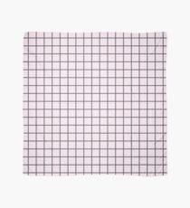 Pink Grid Scarf