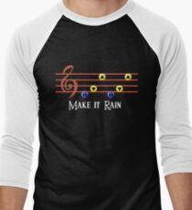 Legend of Zelda Make it Rain Men's Baseball ¾ T-Shirt