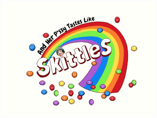 And Her Pssy Tastes Like Skittles Rainbow Lil Xan By XxxLemonadeTM Designs