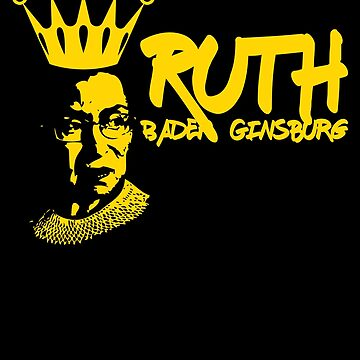 Ginsburg Gift - Ruth Bader - Justice Ruth - Notorious Rbg - Rbg Shirt - Rbg Necklace - Ruth Bader Gift - Notorious Rbg Shirt - Ruth Bader S by UltimatePeter
