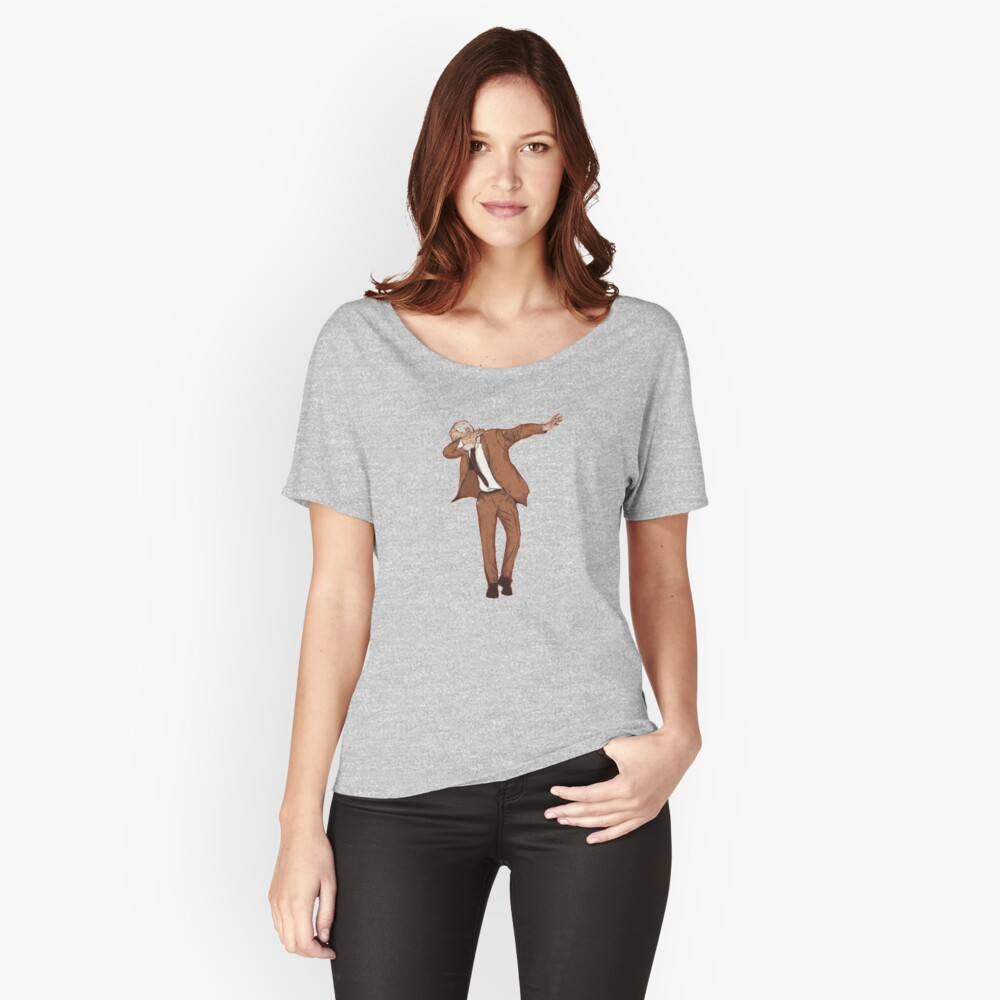 Corbyn Dabbing Women's Relaxed Fit T-Shirt Front