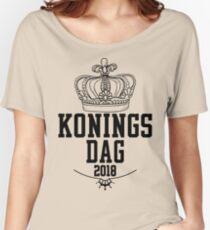 oranje shirt koningsdag 2018 Women's Relaxed Fit T-Shirt