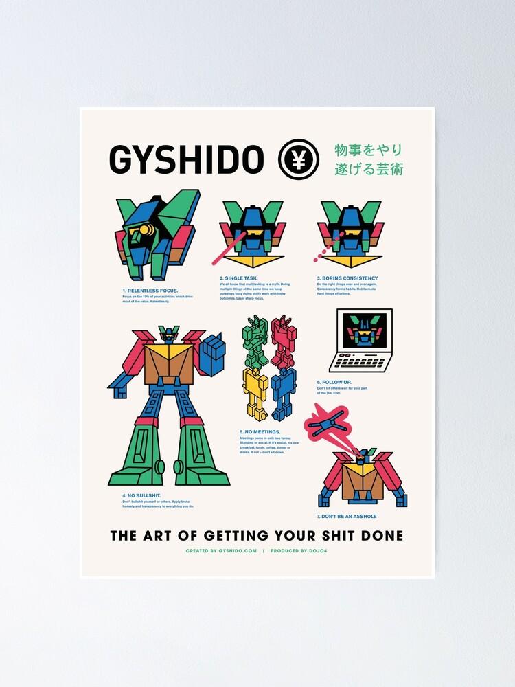 Alternate view of The GyShiDo Manifesto Poster