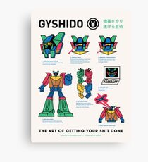 The GyShiDo Manifesto Canvas Print