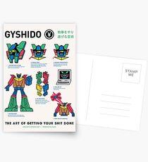 The GyShiDo Manifesto Postcards