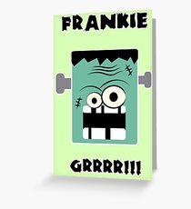 Frankie Tarjeta de felicitación